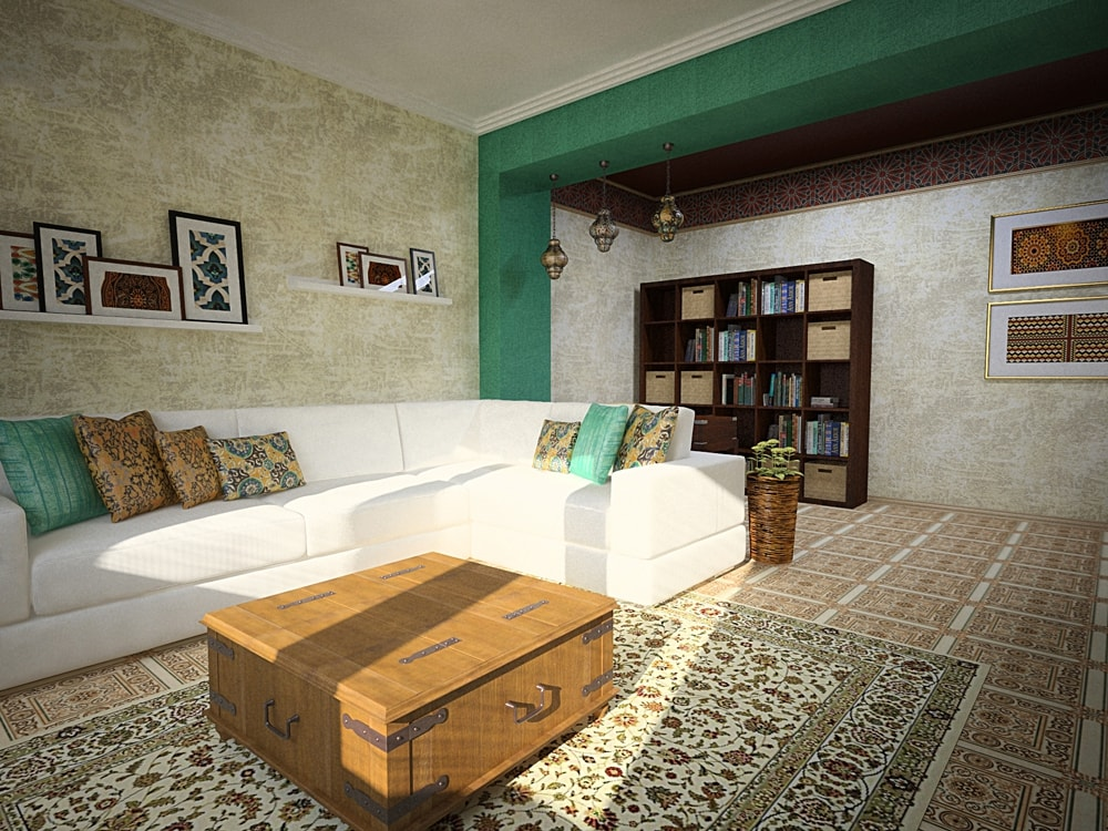 Идеи для дома: дизайн интерьера в марокканском стиле.