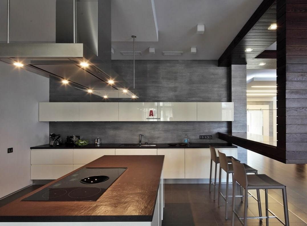 Кухня в техно-стиле