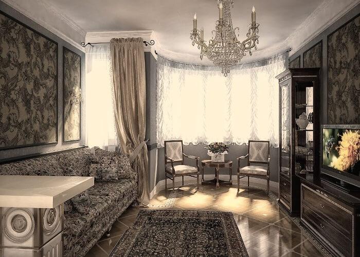 Дизайн в классическом стиле